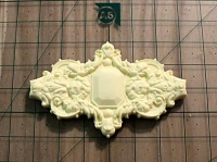 128-Декор пластик  6,2х4 см