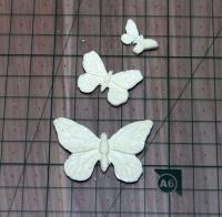 Набор 3 бабочки