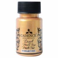 Акриловая краска Cadence Dora Metallic, 50 мл, блестящее золото