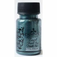 Акриловая краска Cadence Dora Metallic Paint, 50 мл, петролиум