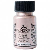 Акриловая краска Cadence Dora Metallic, 50 мл, античный розовый