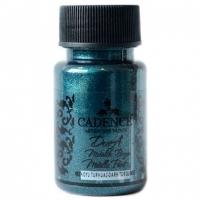 Акриловая краска Cadence Dora Metallic, 50 мл, турецкий синий
