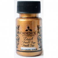 Акриловая краска Cadence Dora Metallic Paint, 50 мл, оксид золот
