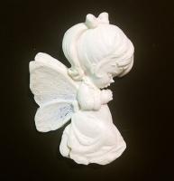 Ангел Девочка  72х50 мм