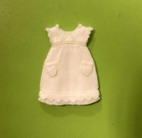Детское платье, 4,4х3,2 см
