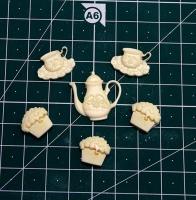 Набор кофейный, 6 предметов