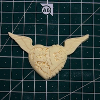 Сердце с крыльями Стимпанк