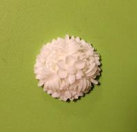 Цветочная камея, диаметр 2,2 см