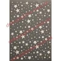 Трафарет Звездное небо, 15х21 см