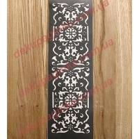 Трафарет Корешок книги, 18х5,5 см