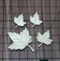 Набор кленовых листьев 4 шт