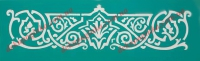 Трафарет Узор-36, 5х16 см