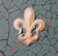 Французская лилия-1, 4*3,4 см