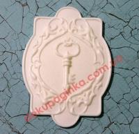 Шильда Ключ, 8,6х6,2 см