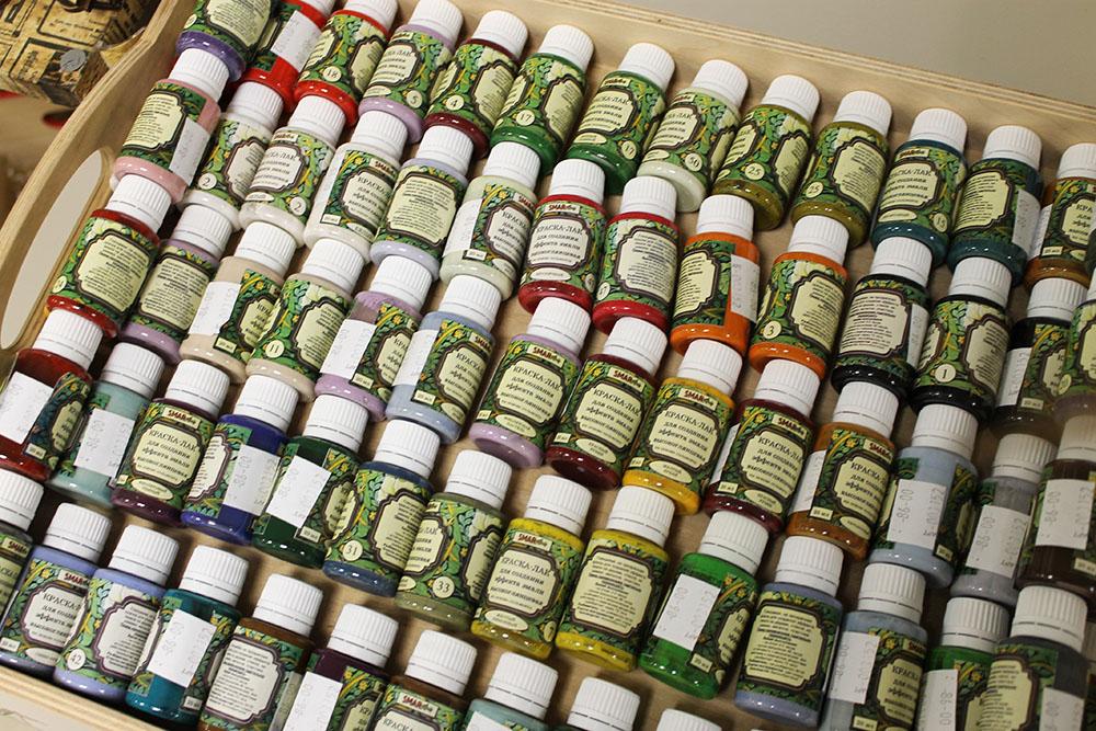 Появились в продаже SMAR - лаковые краски Светланы Мартыновой для имитации  эмали! В наличии и под заказ! 1ceca55751fa4